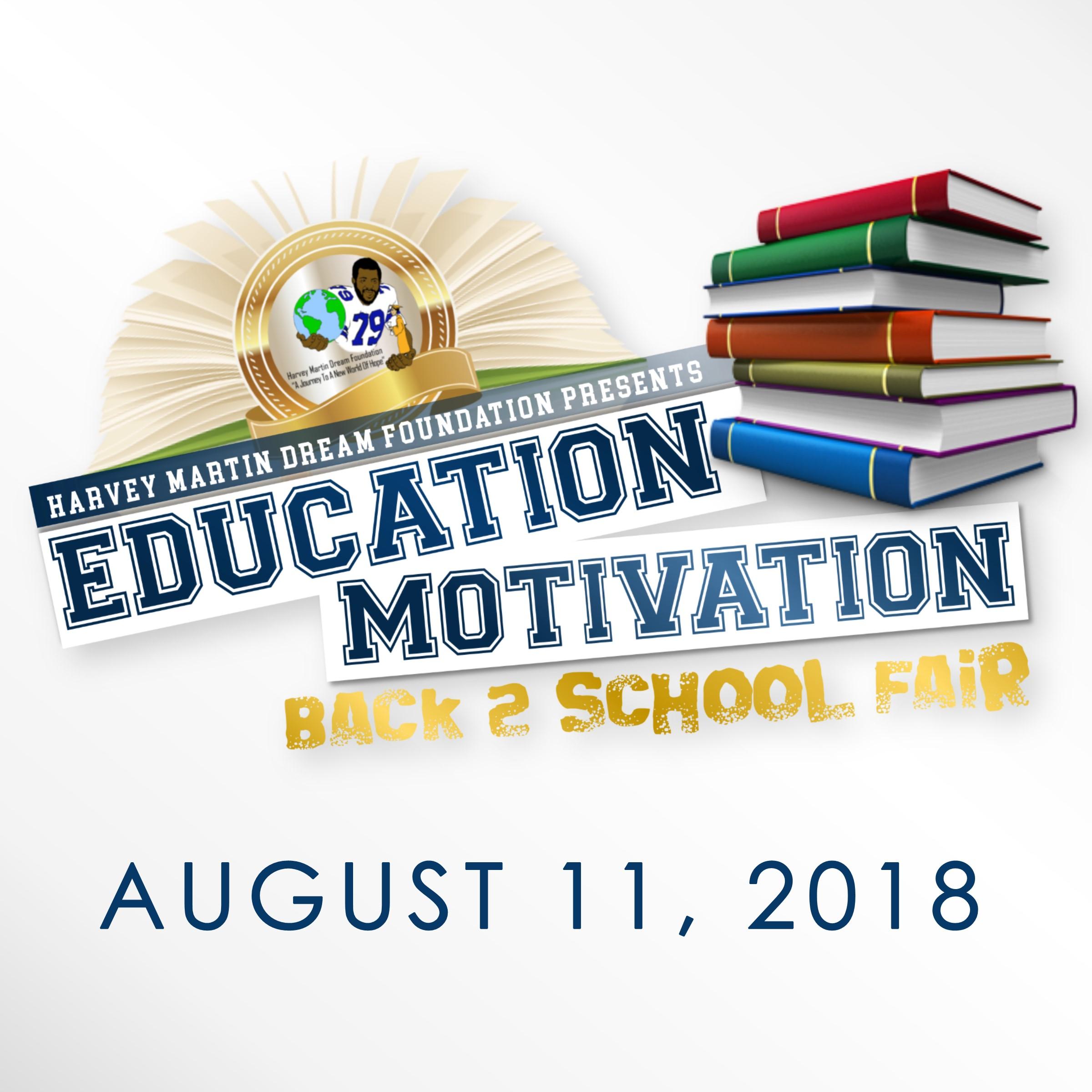 Education Motivation Back 2 School Fair